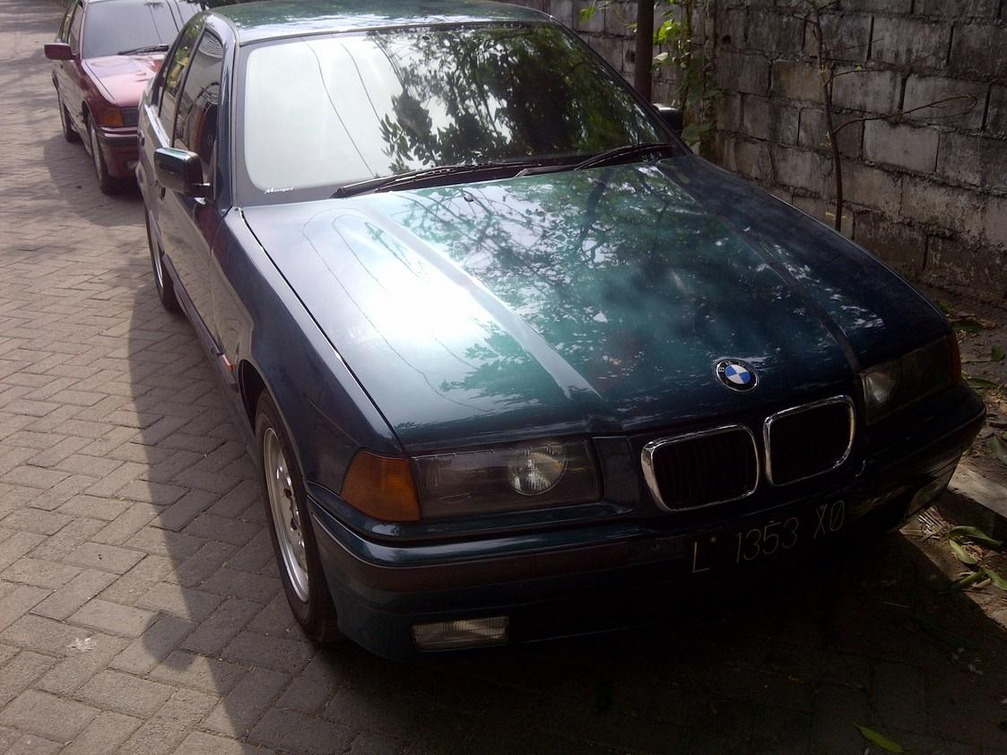 BMW 318i E36/M43 1999 Hijau Mulus SURABAYA