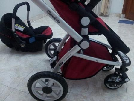 Stroller CocoLatte type Gbx Travel System (Model iGroove) Plus Car Seat Murah