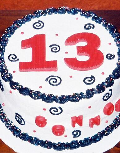 13 Desain Kue Ulang Tahun Ke 13 Yang Keren Kaskus