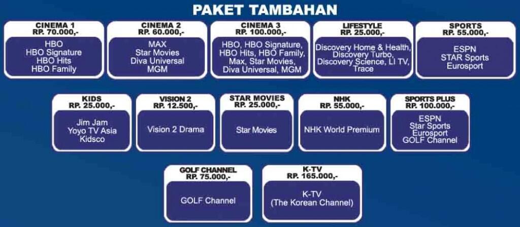 Jasa Pemasangan Indovision TopTV OkeTV di Seluruh Indonesia