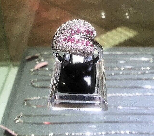 cincin perak 925 lapis emas putih