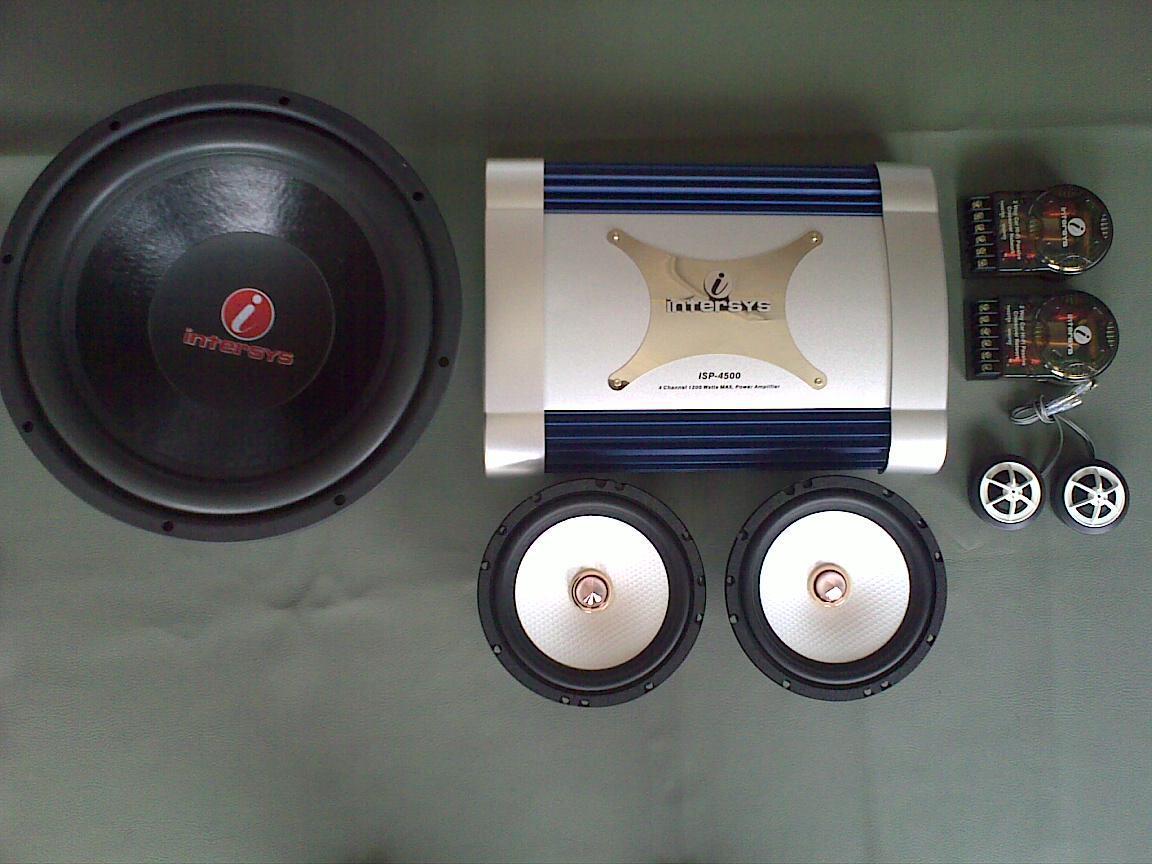 paket INTERSYS ( power, woofer, split )