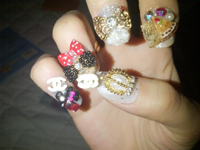 New Coming!!!! nail art only 100k