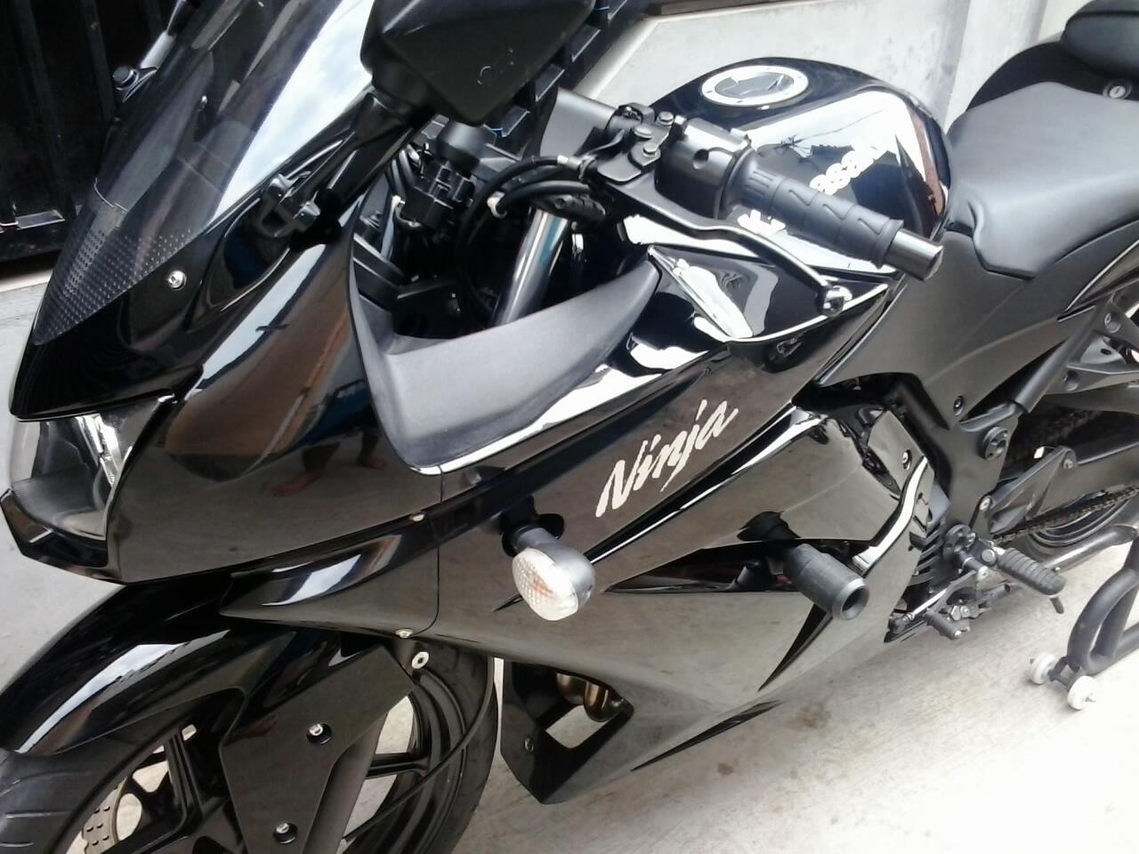 Kawasaki Ninja 250 hitam 2009 bulan 7 (Repost)