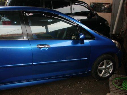 Honda Jazz 2007 matic,biru metalic 119jt insya Allah puas-,jaktim