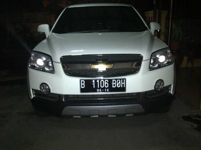Chevrolet Captiva SS Th 2011 Putih