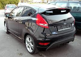 ford fiesta sporty and trendy