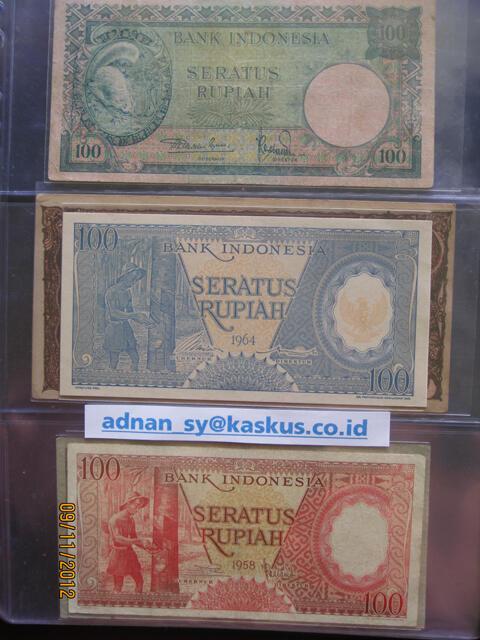 Uang Kuno Indonesia 84 Macam Dalam Album