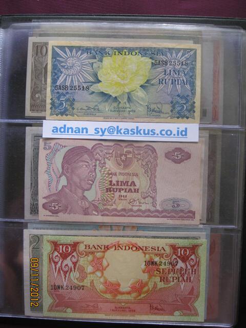 Uang Kuno Indonesia 48 Macam Dalam Album