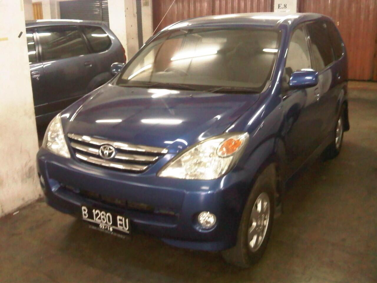 Toyota Avanza 1.3 G M/T Thn 2006 Biru