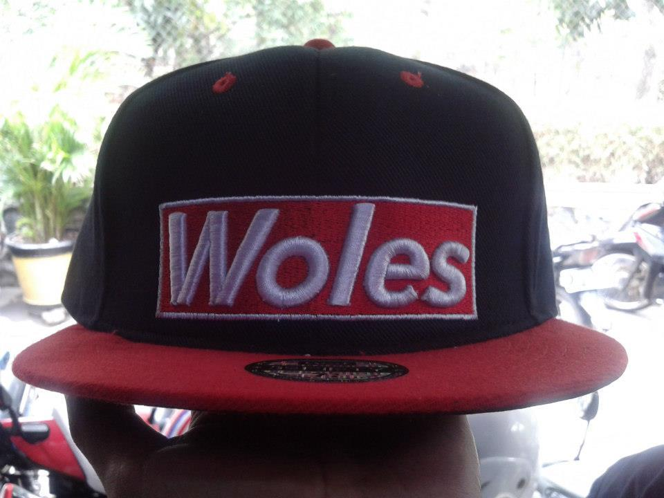WTS snapback WOLES new !