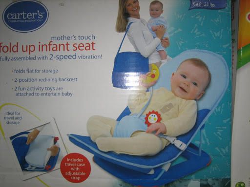 Jual--> carter's fold up infant seat <---