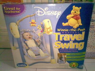 DIJUA Baby Swing Disney elektrik (ayunan bayi otomatis)/ TRAVEL SWING SIMPLICITY
