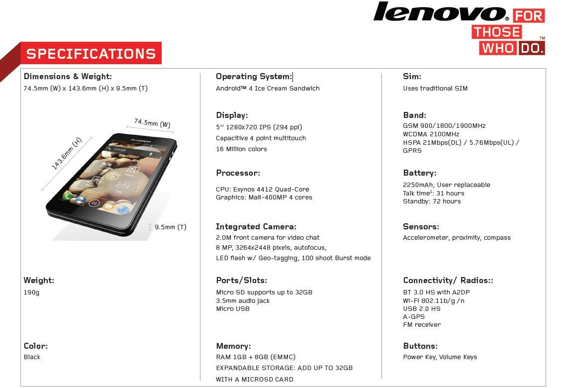 """[LOUNGE] Lenovo k860,affordable quadcore Exynos+5""""IPS HD"""