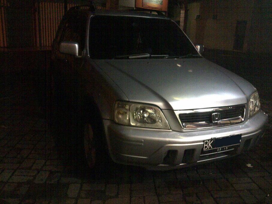 Honda CRV thn 2000, silver, 100jt only, Sumut Medan