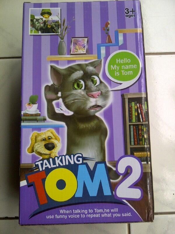 Tomcat, si Kucing peniru suara, cocok untuk Kado, Koleksi, Souvenir dsb !!