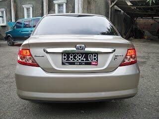 CITY IDSI MATIK 2004, TDP 12jt, BSD Tangerang