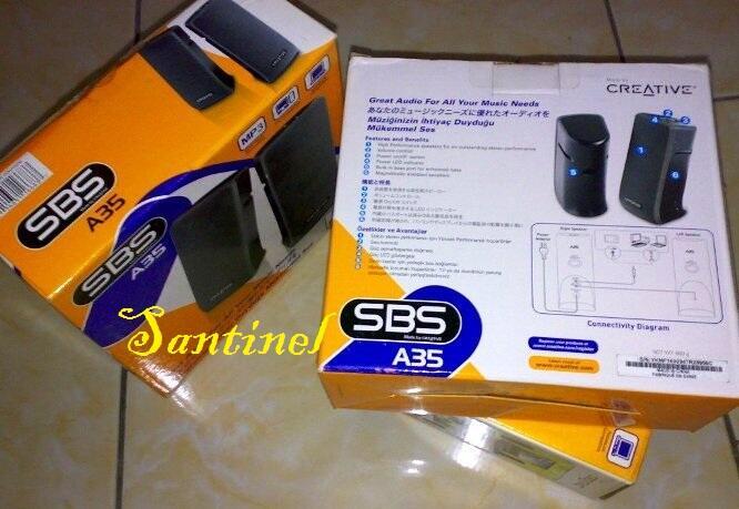 Speaker Creative SBS A35, A40, A200