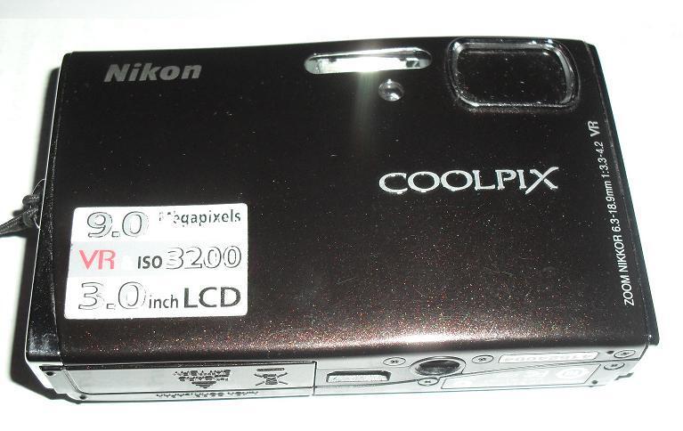 Jual Camera Digital Pocket Nikon VR Coolpix S52 9MP second