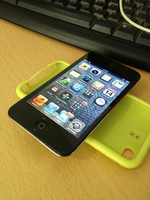 iPod 4th Gen Black 32Gb Mulus