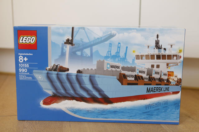 Lego Maersk Ship - Exclusive Edition