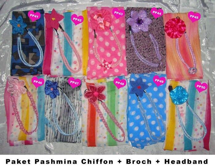 Paket Pashmina Shifon