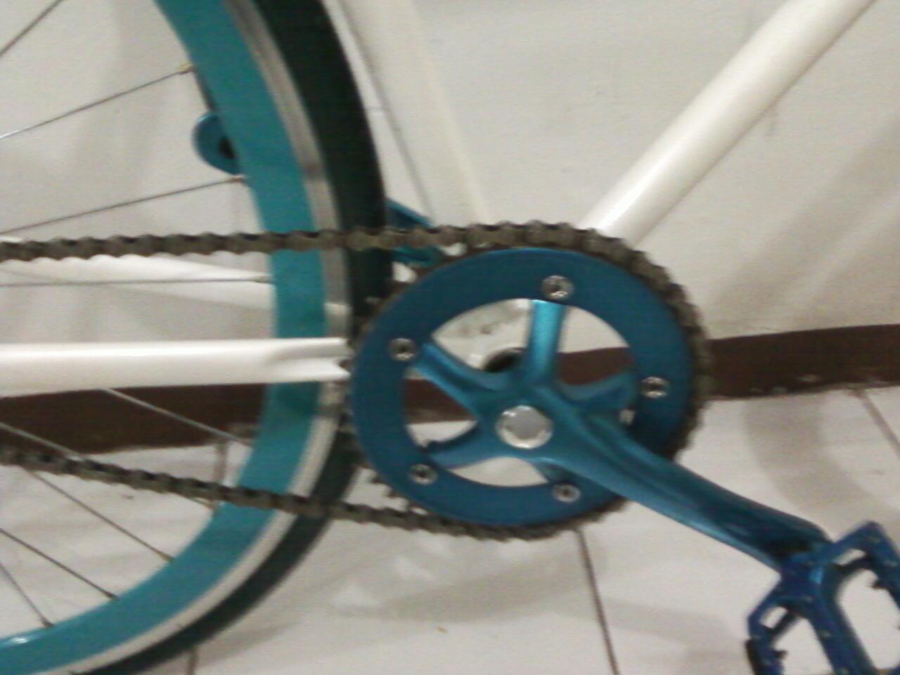 Sepeda Fixie seken