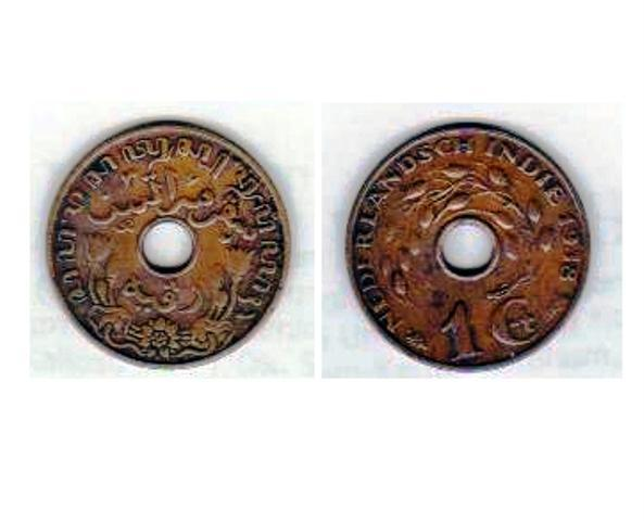 Koin Kuno 1 Cen Nederlandsch Indie 1938