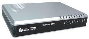 Welltech Analog VOIP Gateway - WellGate 2540 (4FXO)