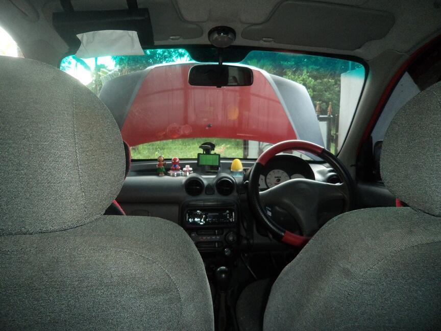 Hyundai Atoz MPI 1.1 Red Ferari