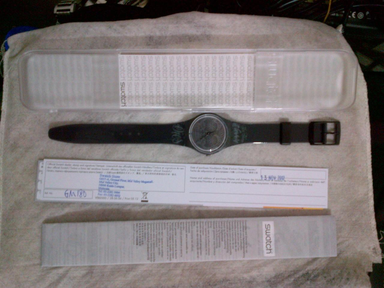 WTS JAM TANGAN SWATCH NEW ORI