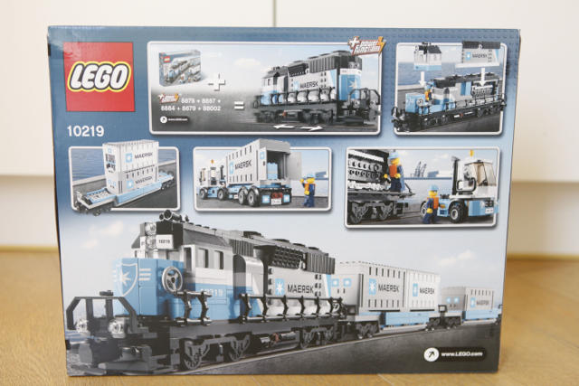 Lego Train Maersk - Hard to Get Collection