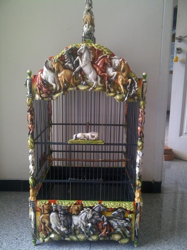WTS Sangkar Lomba Ukiran 3D