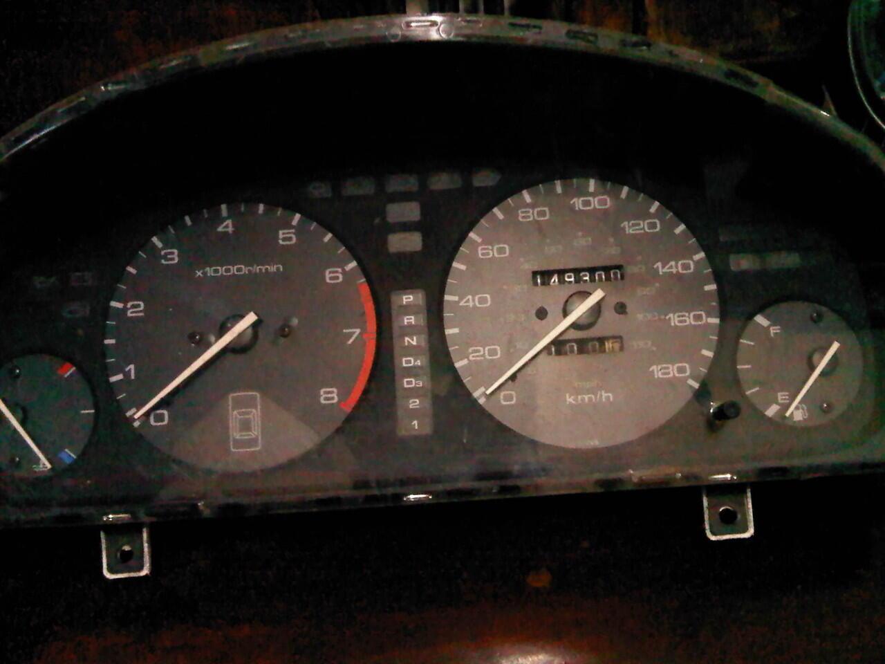 Speedometer Honda Cielo SV4 cluster MPH