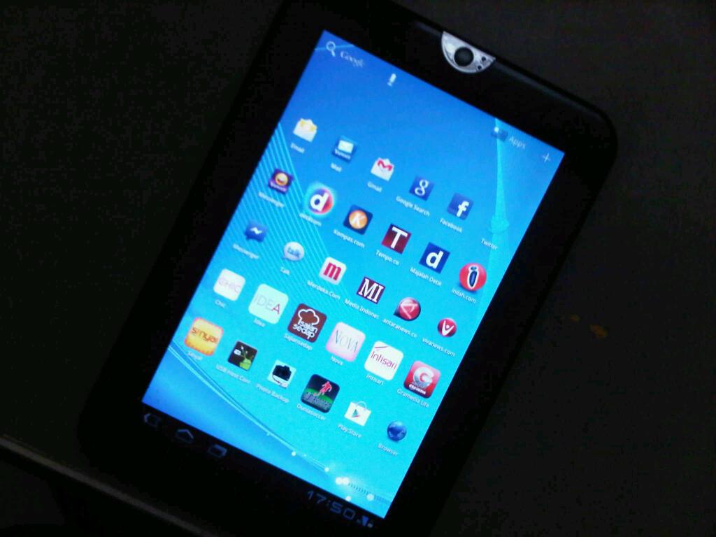 Tablet Regza AT1SO merk Toshiba
