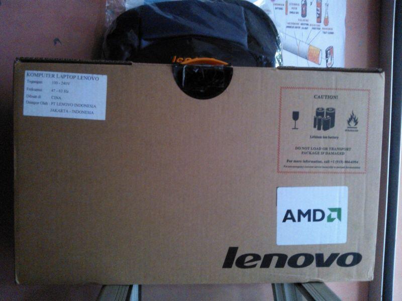 LAPTOP GAMING LENOVO G475 NEW SEMARANG