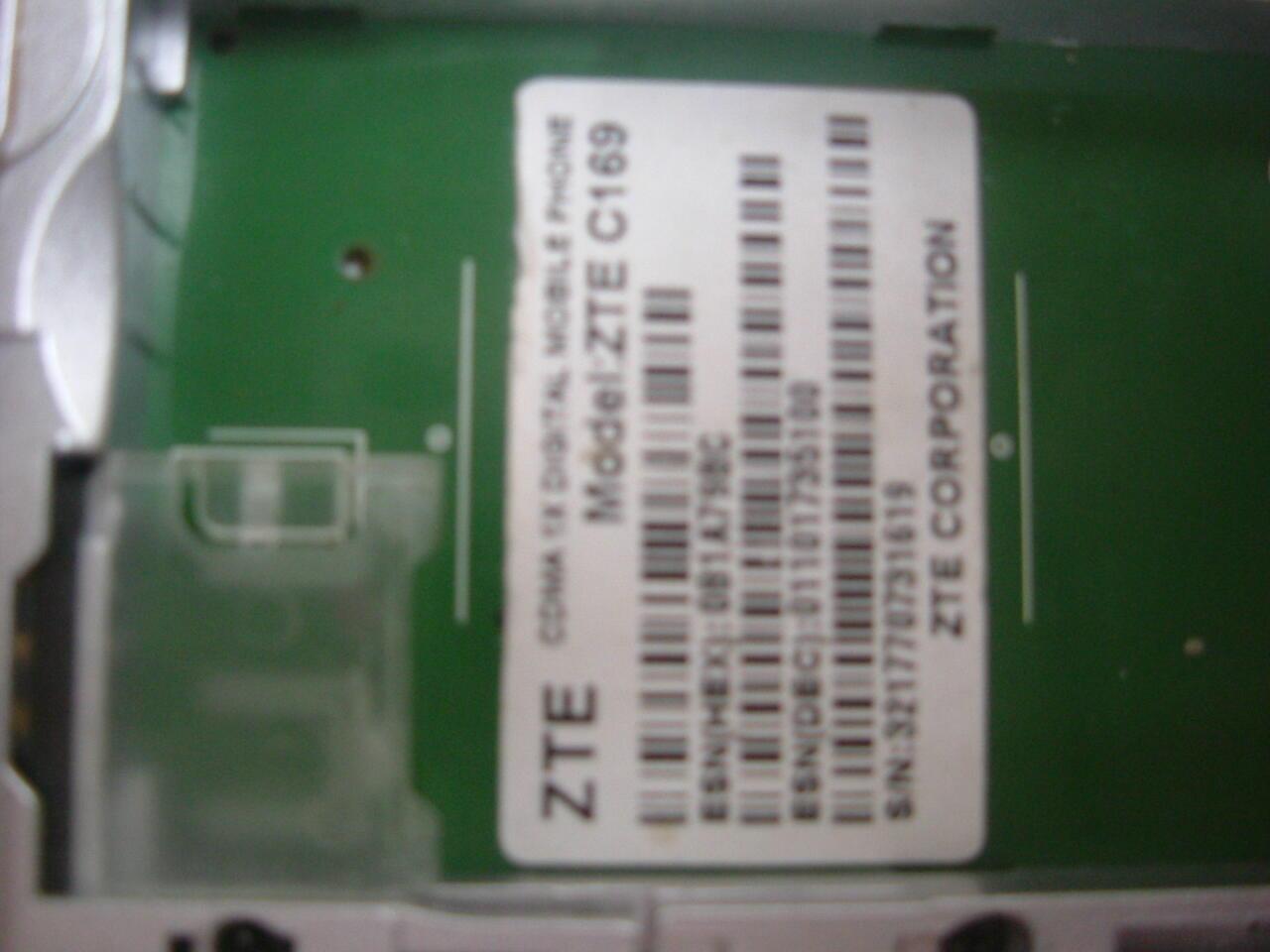 HP CDMA ZTE C 169 semua kartu CDMA Bekas Solo Murah Normal