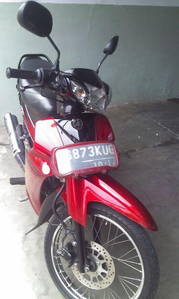 Yamaha Vega R New 2009 Merah-Hitam Bekasi Timur