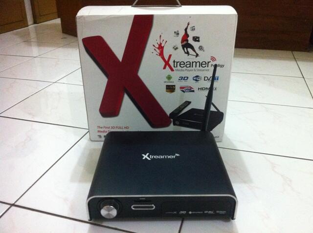 Dijual Xtreamer Prodigy black muluzz like new.....