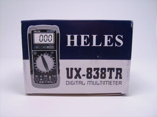 Heles ET MULTIMETER D UX-838TR