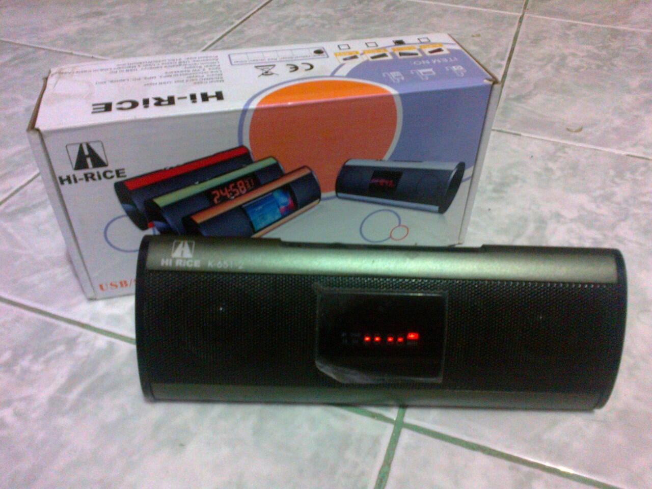 Mini Speaker Hi-Rice K-651 ,