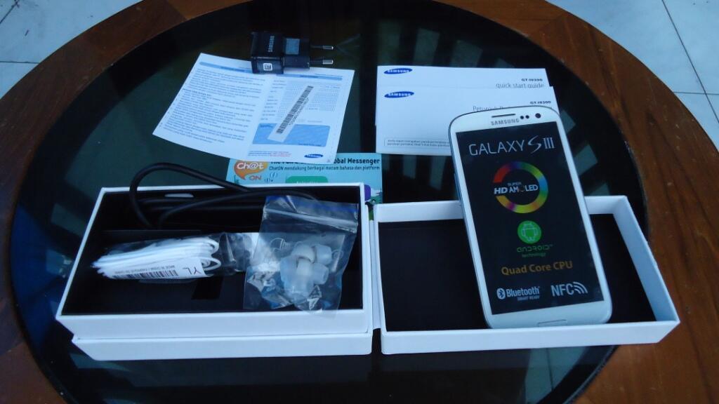 Banting harga!!!! Samsung galaxy s3 / sIII, white i9300, exhadiah, gsm 16gb
