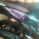 Mio Cw hitam violet (7,6)