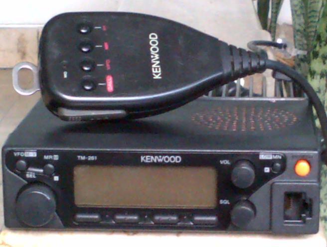WTS: RIG KENWOOD TM261A