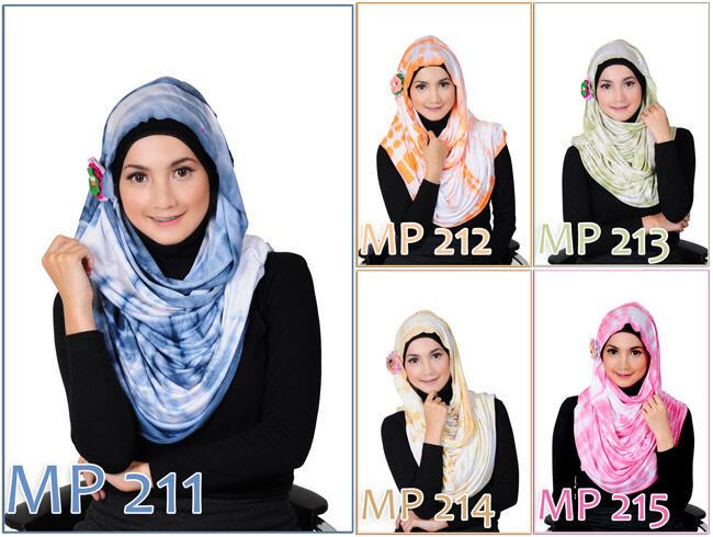 [MUSLIMAH FASHION] Hijab Pashmina :: Ciput Ninja :: Motif Cantik & Lembut