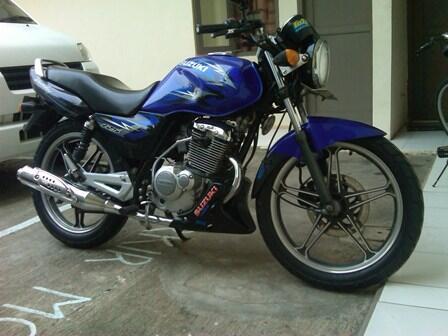 Dijual Suzuki Thunder 125 cc Tahun 2008