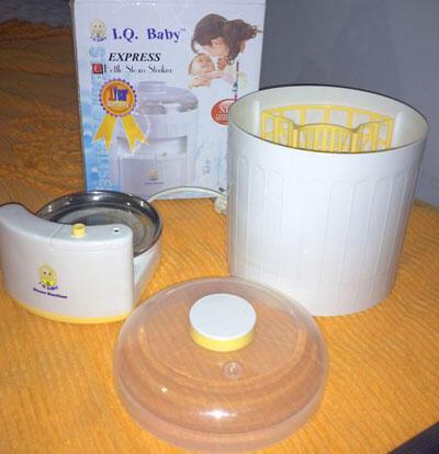 Steamer Sterilizer IQ Baby Botlle Kondisi TOP Murah, Garansi