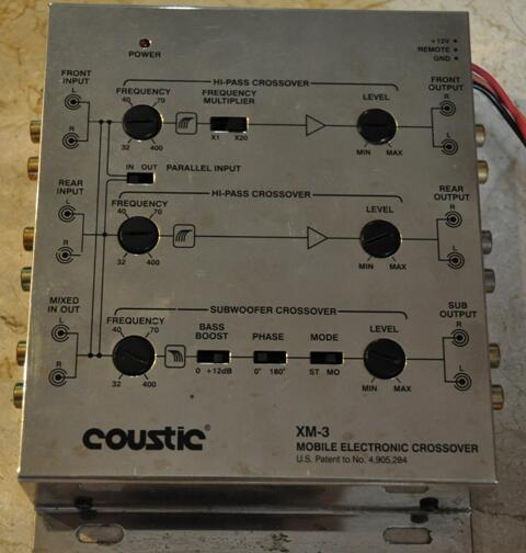 Power Amp untuk mobil dan active crossover