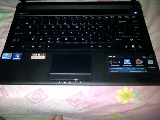 JUAL ASUS ULTRA SLIM COREI5/RAM 8GB/HDD 500GB/VGA NVIIDA 1 GB COD OR REKBER GAn!!!