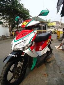 cutting sticker full body untuk vario, beat, spin, mio